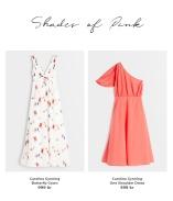Shoppa snygga off shoulder och on shoulder klänningar från kollektionen