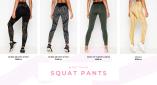 Squat pants