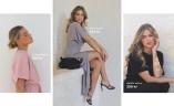 Rosa klänning från Bubbleroom, Beige klänning från John Zack, Svart jumpsuit från Happy Holly