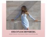 Ljusblå spetsklänning från Moments New York