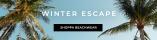 Shoppa bikinis, toppar, klänningar, sandaler, accessoarer till semestern! Winter Escape look - Shoppa nu!