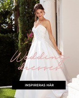 Vår stora bröllopsguide - allt för bröllopet! Vår senaste kollektion av bröllopsklänningar är skapade för de där speciella dagarna när en vanlig klänning inte är tillräcklig. Oavsett om du är brud, tärna eller gäst - så finns det en tärnklänning eller bröllopsklänning som du garanterat kommer att glänsa i.