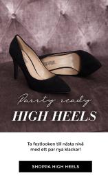 Shoppa högklackat - Fullända din look med ett par högklackade skor - Festskor - Party heels