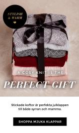 Shoppa stickade klappar - stickade koftor, tröjor, jultröjor