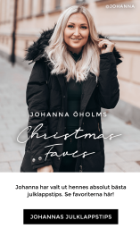 Julklappstips - Se Johannas favoriter här!