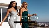 Student och balklänningar