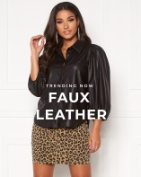 Trending now - Faux leather