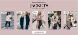 Shoppa jackor på Bubbleroom