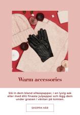 Ge bort varma accessoarer i julklapp - Shoppa här