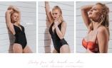 Bikinis, baddräkter, badkläder till stranden