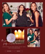 Klä upp dig inför jul med festtoppar och glittrande smycken - Shoppa här
