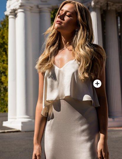 Lovisa Barkman Capri flounce Dress