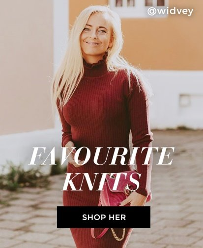 Knitted dresses and tops