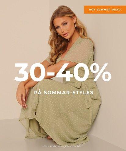 30-40% på sommar-styles - BLOCK3PUFF1
