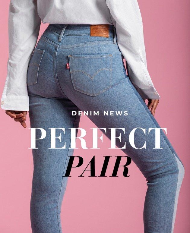 Highwaist jeans från Levis
