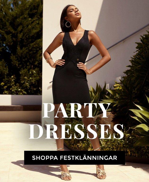 Shoppa festklänningar