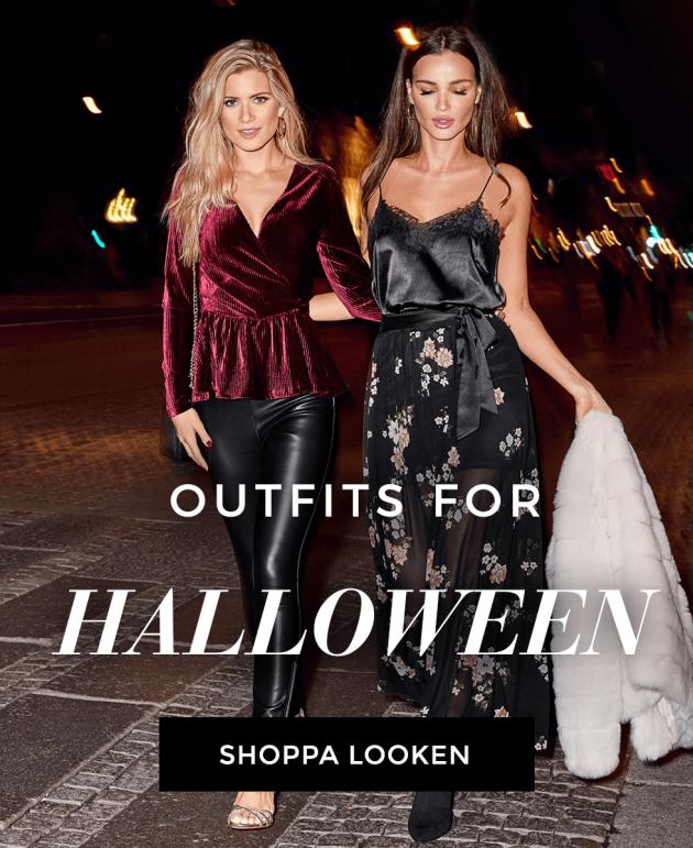 Shoppa partylooken för Halloween