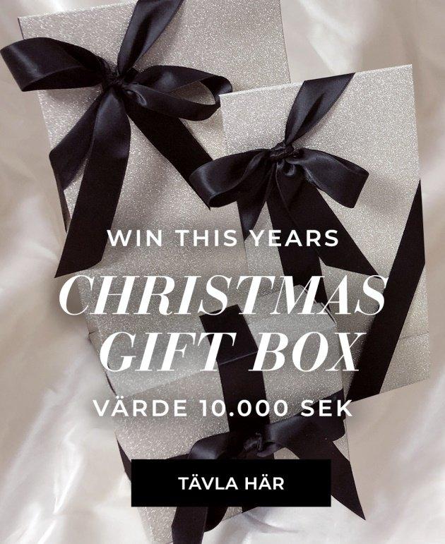 Tävla om en magisk christmas box med värde 10 000 kr
