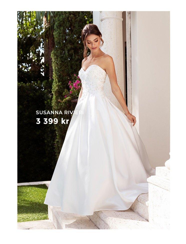 Bröllopsklänningar från varumärket Susanna Rivieri