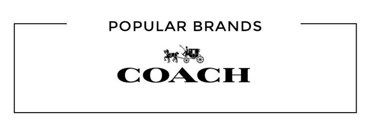 Populära varumärken Coach