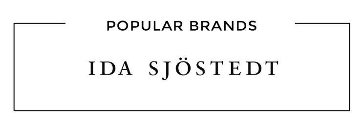 Populära varumärken Ida Sjöstedt