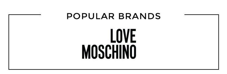 Populära varumärken Love Moschino