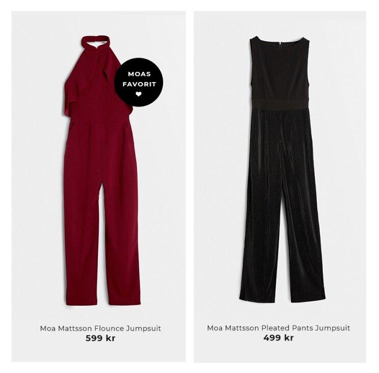 Shoppa jumpsuits från Moa Mattsson X Bubbleroom