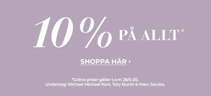 10% på hela sortimentet - shoppa här