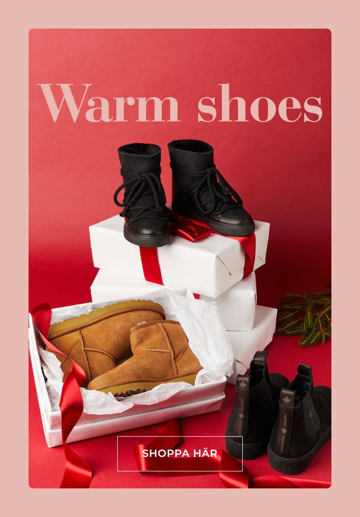 Hitta dina favorit skor för vinterns kyla - Shoppa här