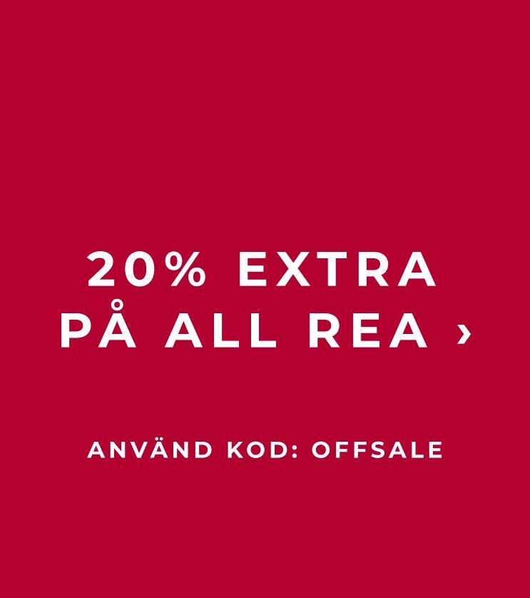 20% extra på all rea - Shoppa här