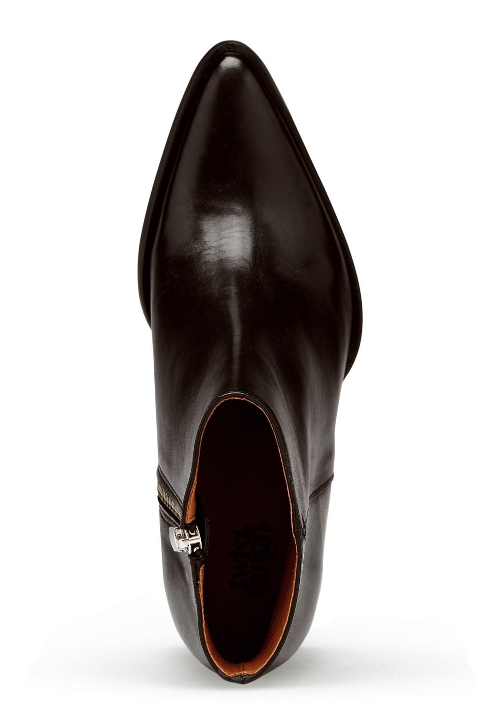 Twist & Tango Dallas Leather Boots Black Bubbleroom