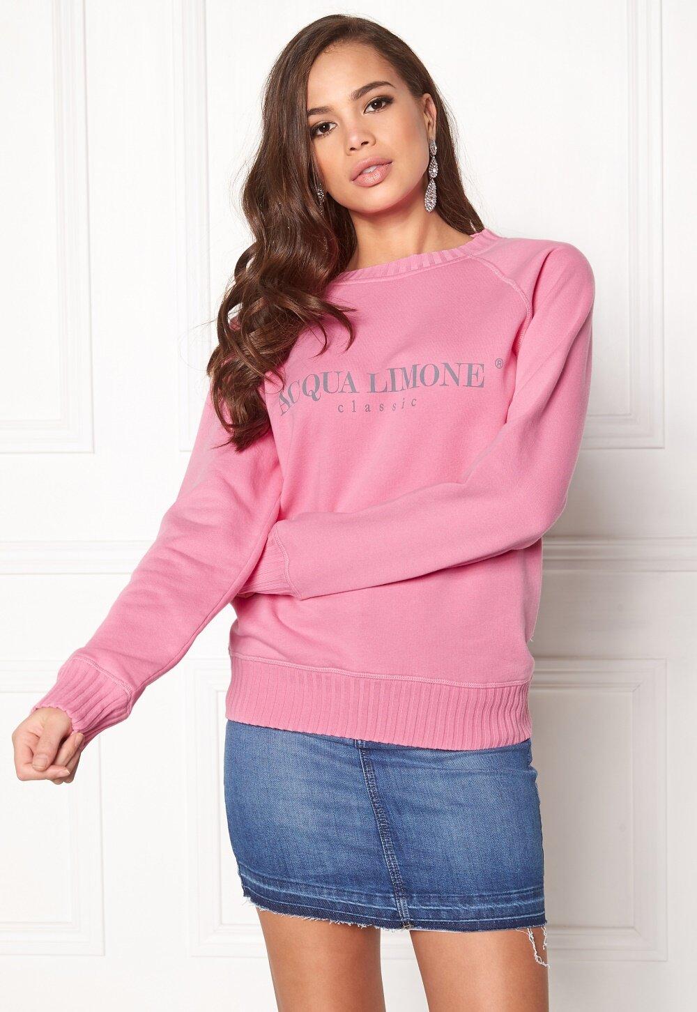 Acqua Limone Sweatshirt College Classic Rosa Sweatshirts