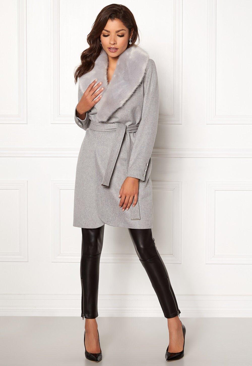 Chiara Forthi Verona Coat Grey Bubbleroom