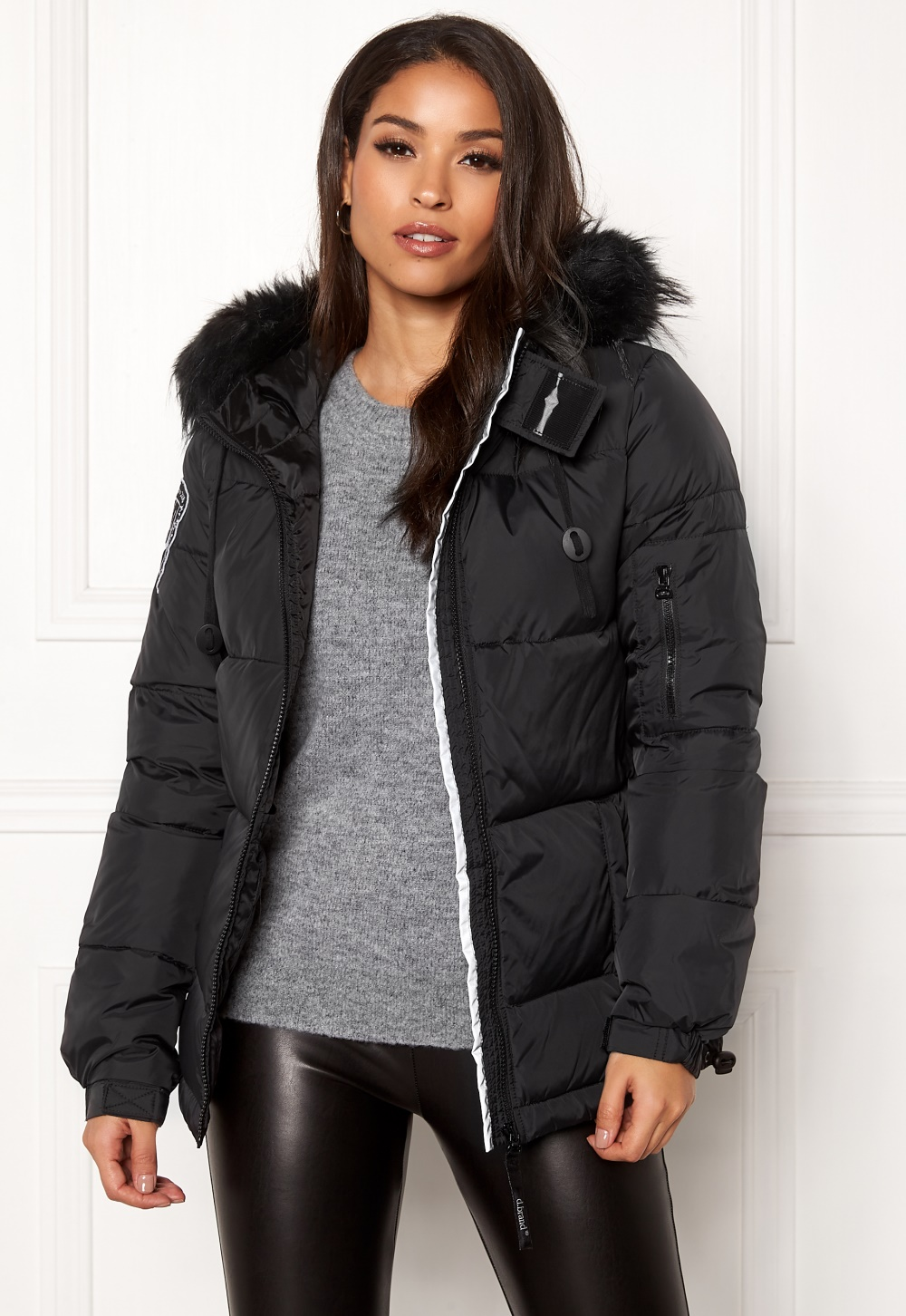 D.Brand Eskimå Short Jacket Black/Black