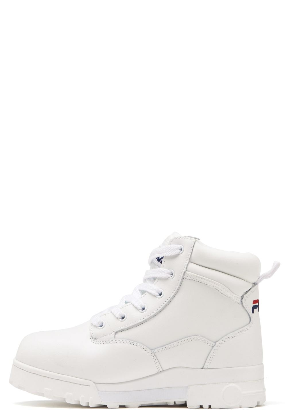 FILA Grunge L Mid Boots White Bubbleroom