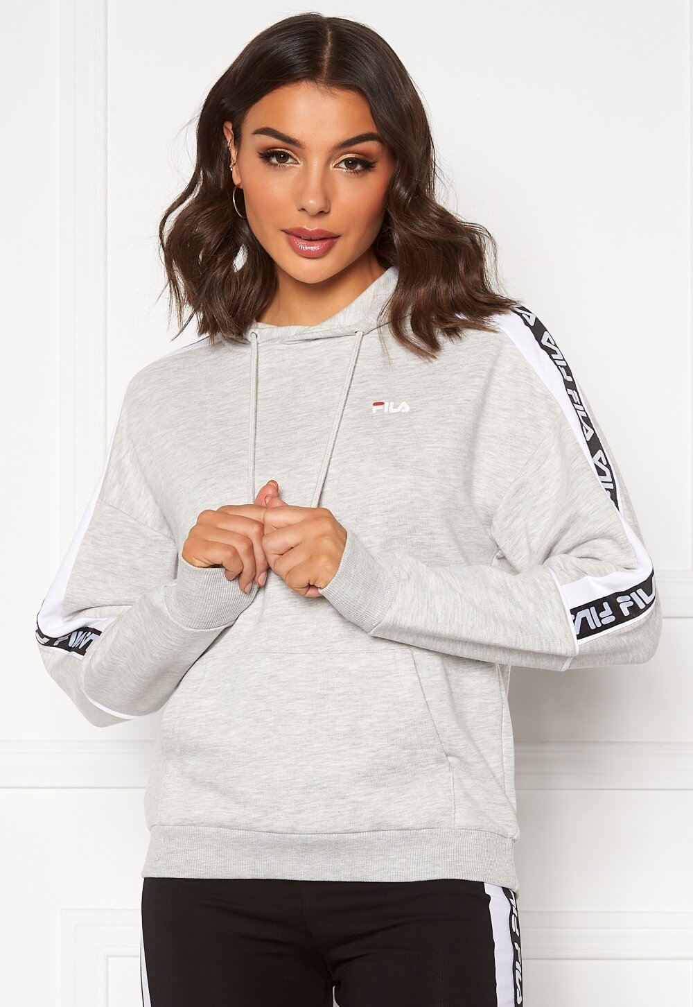 FILA Tavora Hoody A068 light grey mel Bubbleroom