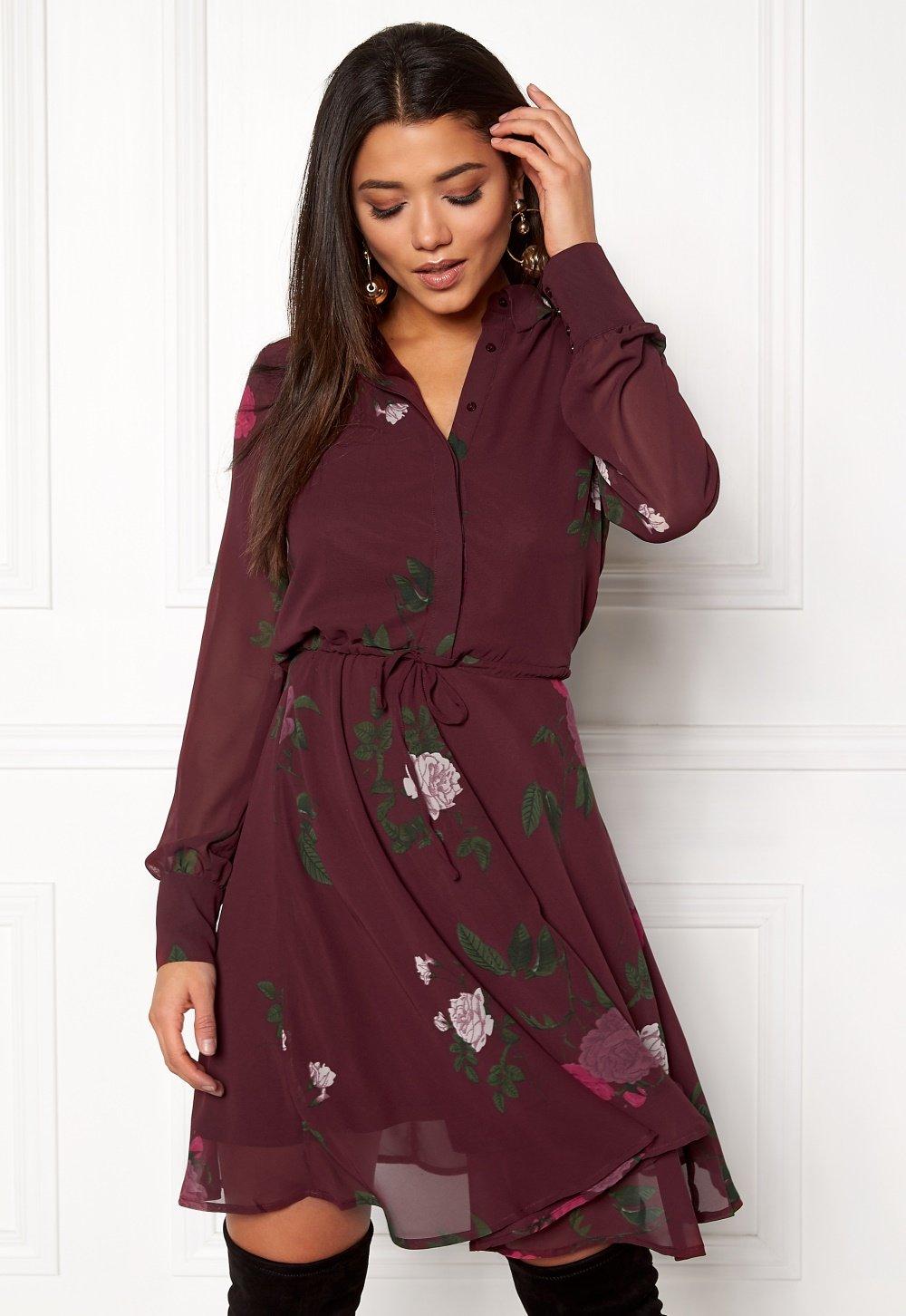 OBJECT Lulu L S Dress Winetasting - Bubbleroom 3a37db0e5f616