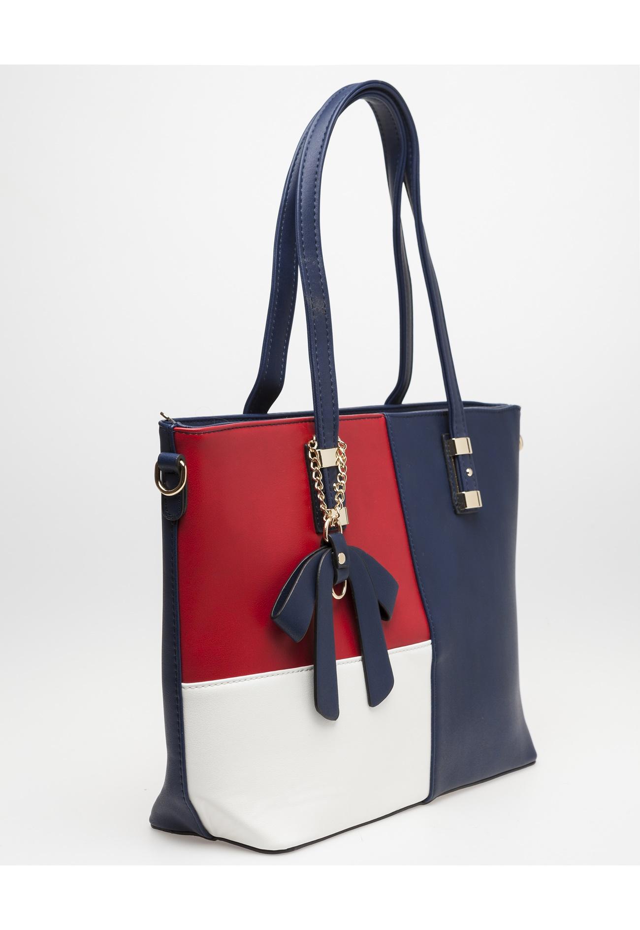 Punainen Käsilaukku : Have k?silaukku camomil punainen valkoinen sininen