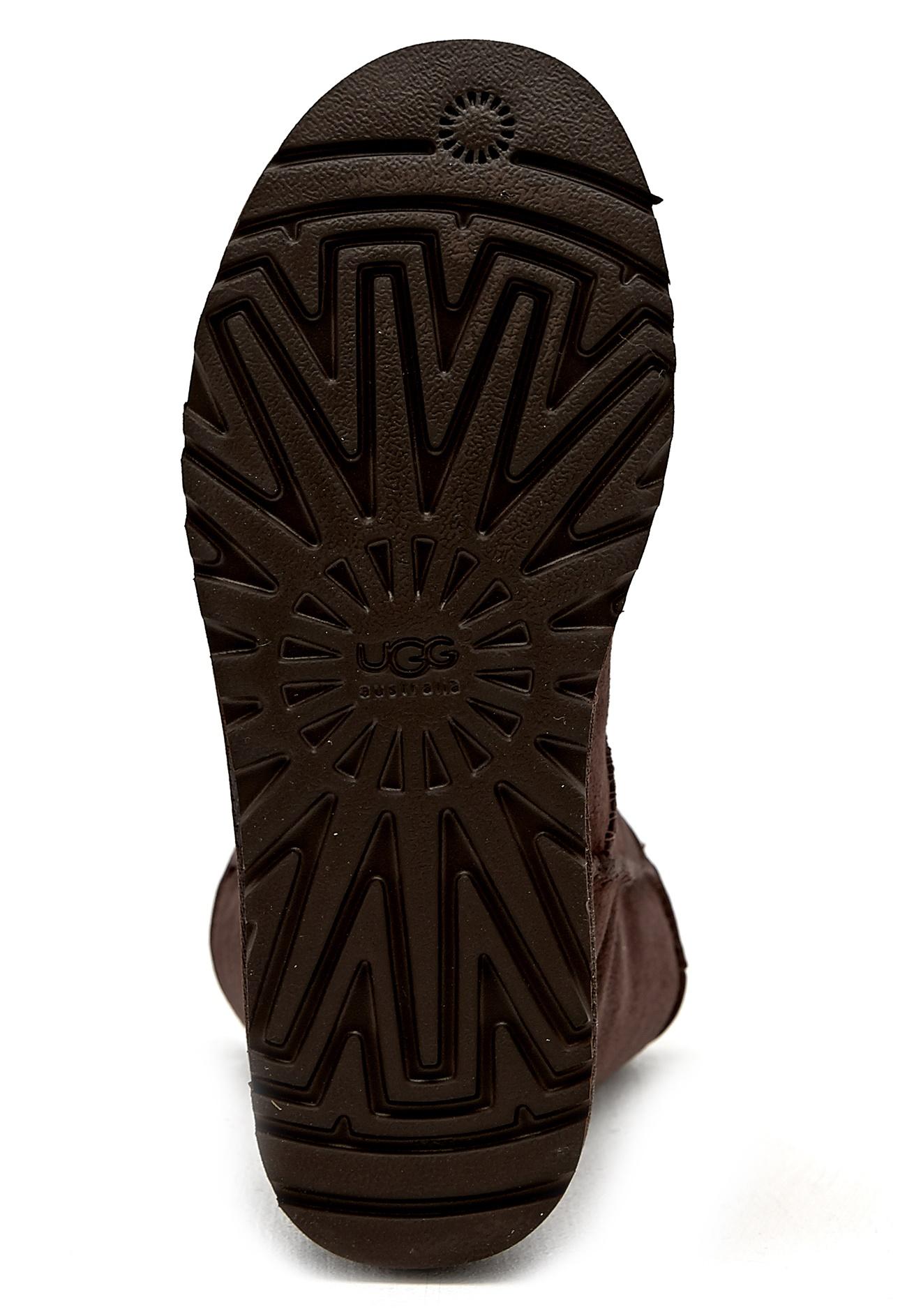ugg bailey button chocolate