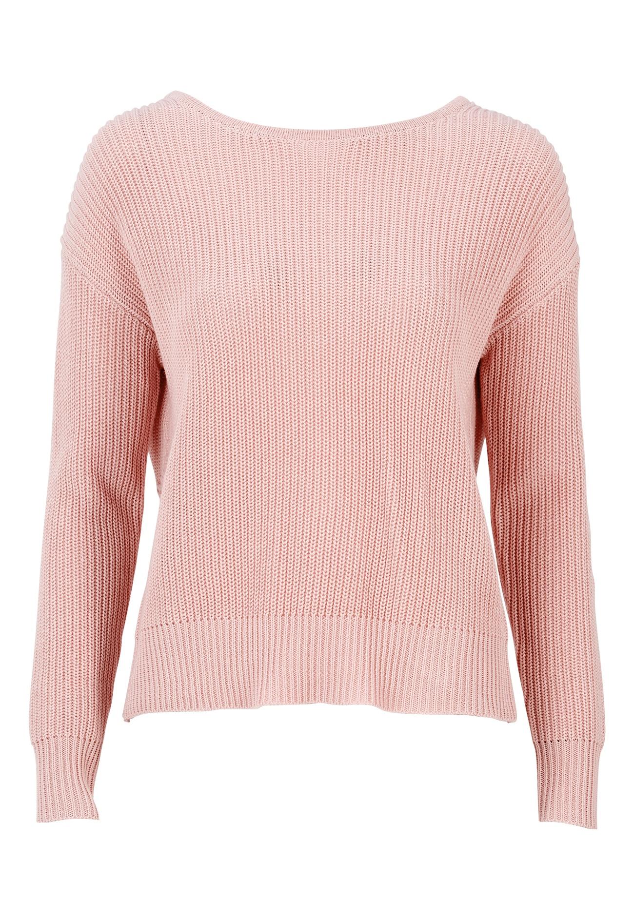 77thFLEA Damaris Sweater Dusty pink - Bubbleroom
