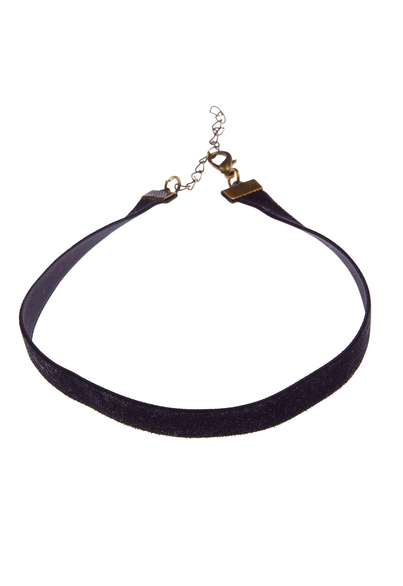 77thflea velvet choker necklace black bubbleroom
