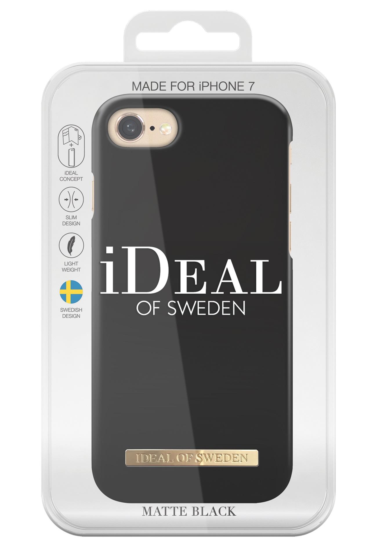 ideal of sweden fashion case iphone matte black bubbleroom. Black Bedroom Furniture Sets. Home Design Ideas