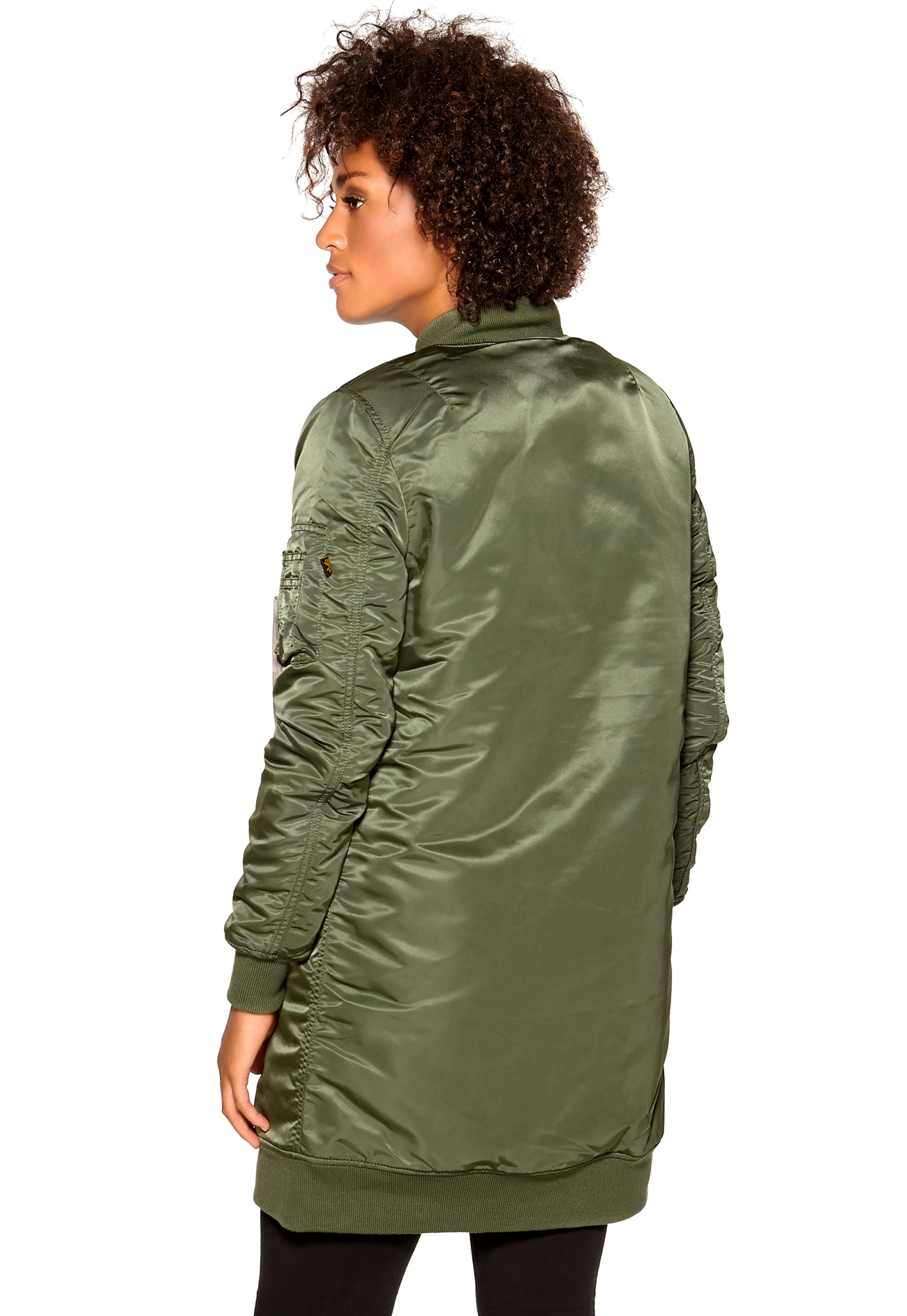 alpha industries ma 1 coat sage green bubbleroom. Black Bedroom Furniture Sets. Home Design Ideas