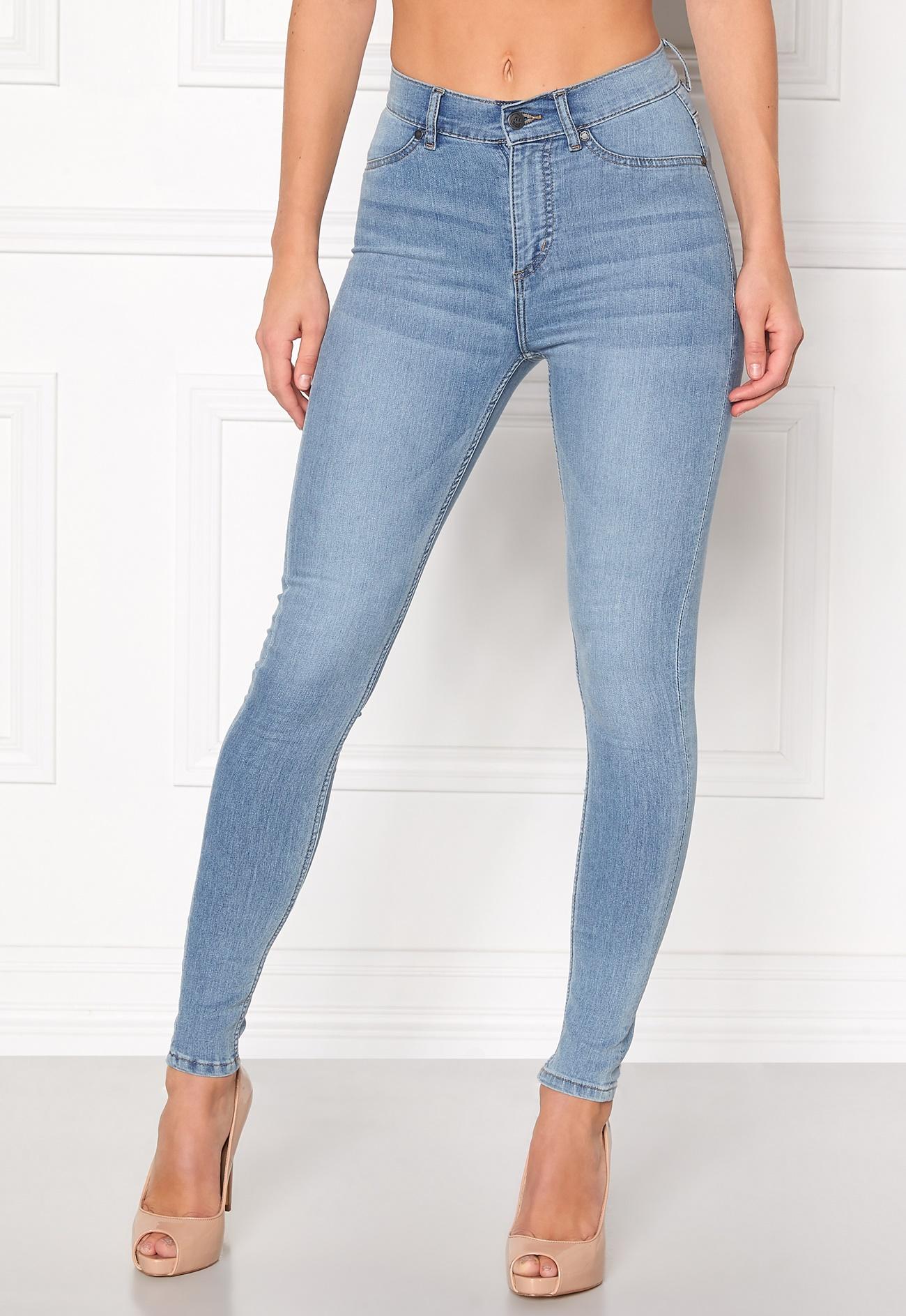 cheap monday high spray jeans lt blue bubbleroom. Black Bedroom Furniture Sets. Home Design Ideas