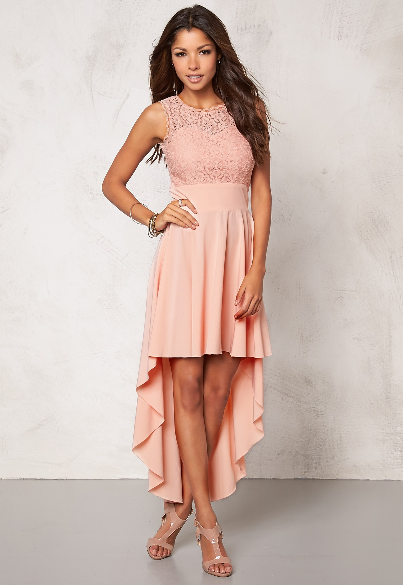 Chiara Forthi Kimberly Dress Powder pink - Bubbleroom