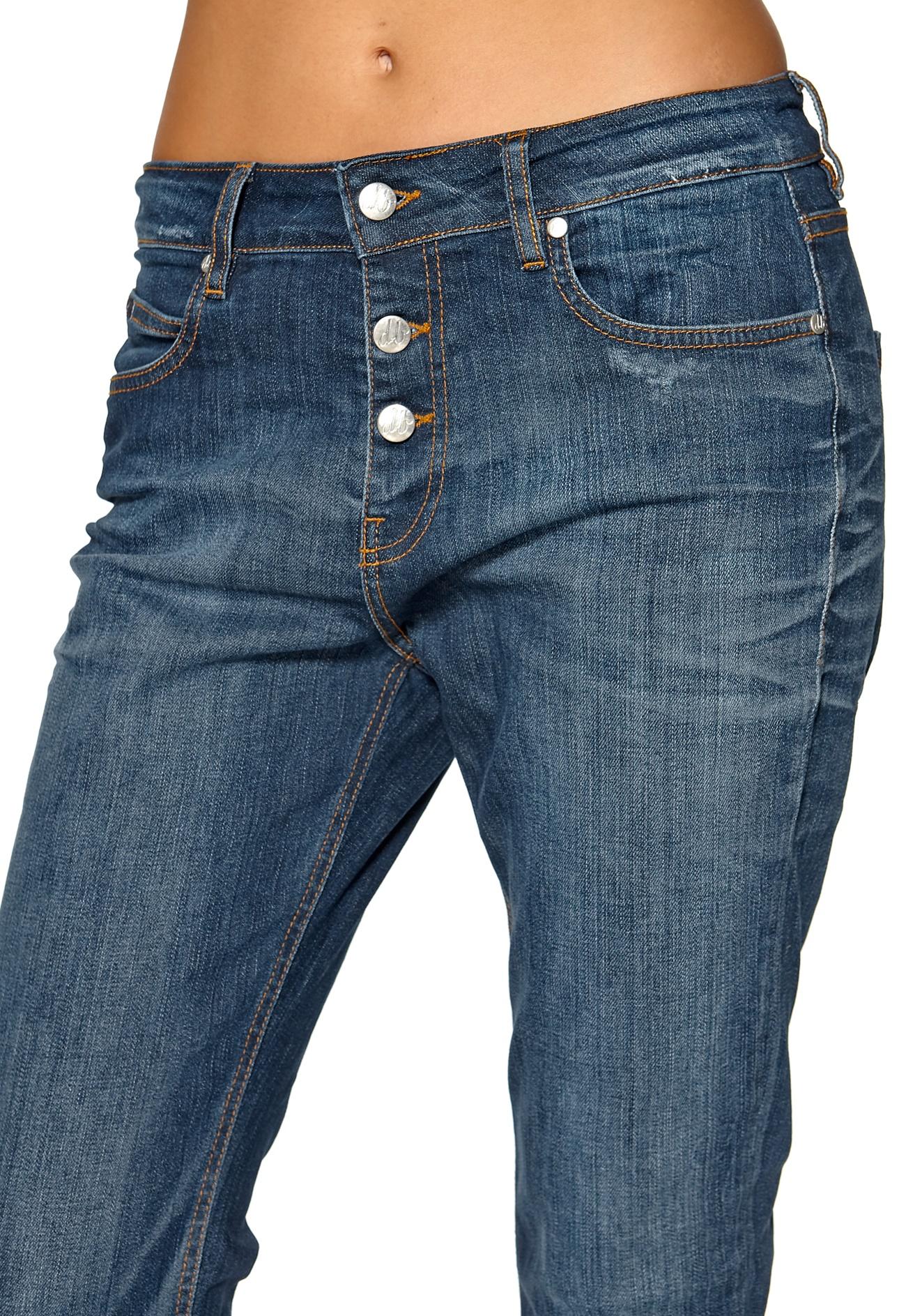 D.Brand Carrot Fit Jeans Denim Blue Wash - Bubbleroom