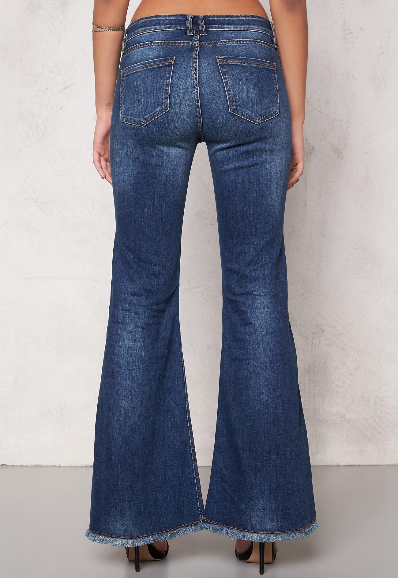 D.Brand Flair Denim Blue Jeans Denim - Bubbleroom