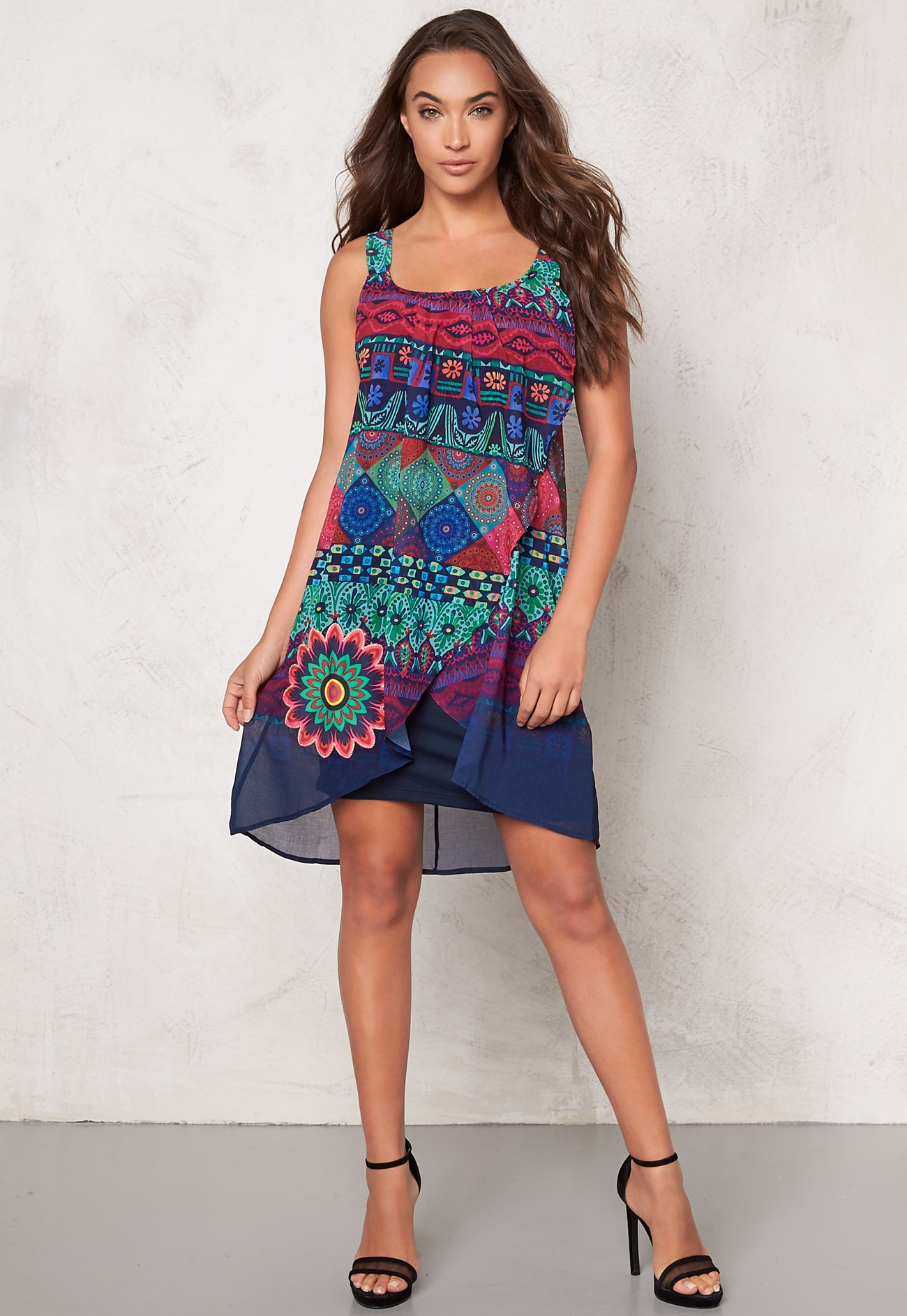 Desigual Magic Dress Navy
