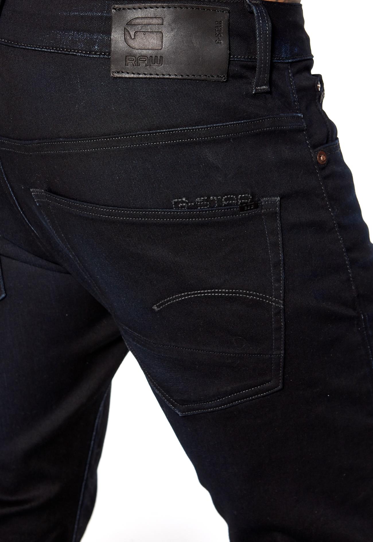 g star 3301 slim jeans 89 dk aged bubbleroom. Black Bedroom Furniture Sets. Home Design Ideas