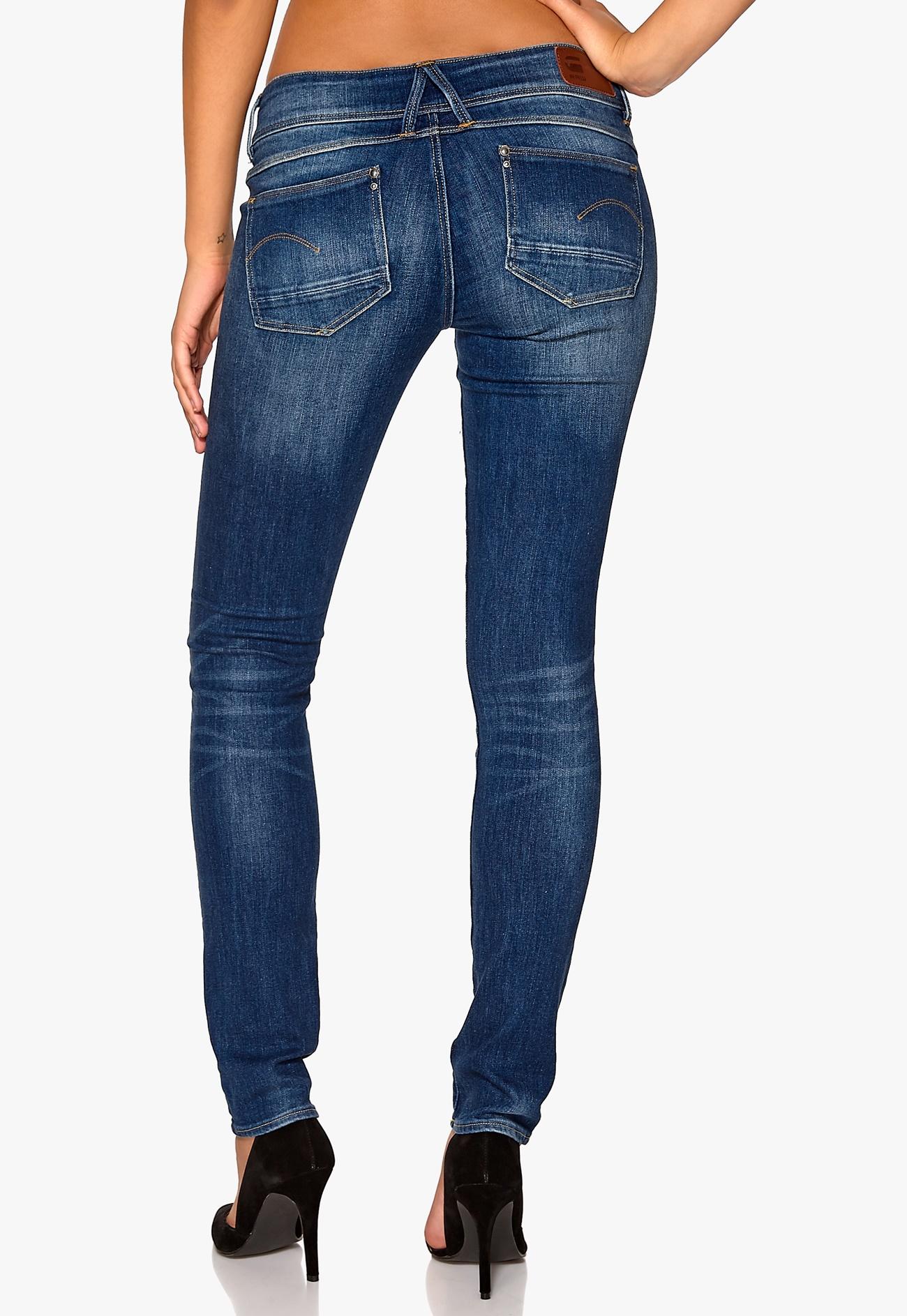 g star lynn mid skinny jeans 424 lt aged bubbleroom. Black Bedroom Furniture Sets. Home Design Ideas